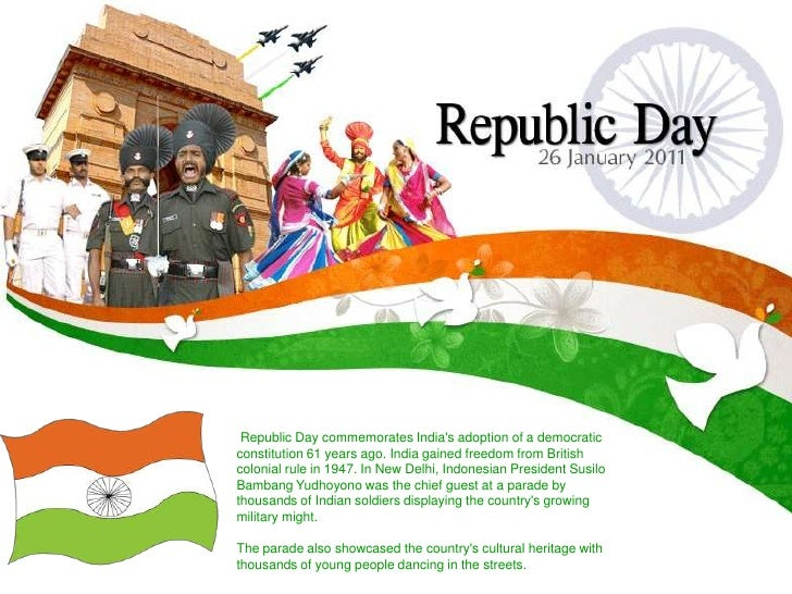 Republic day celebrated with enthusiasm in all corners of India