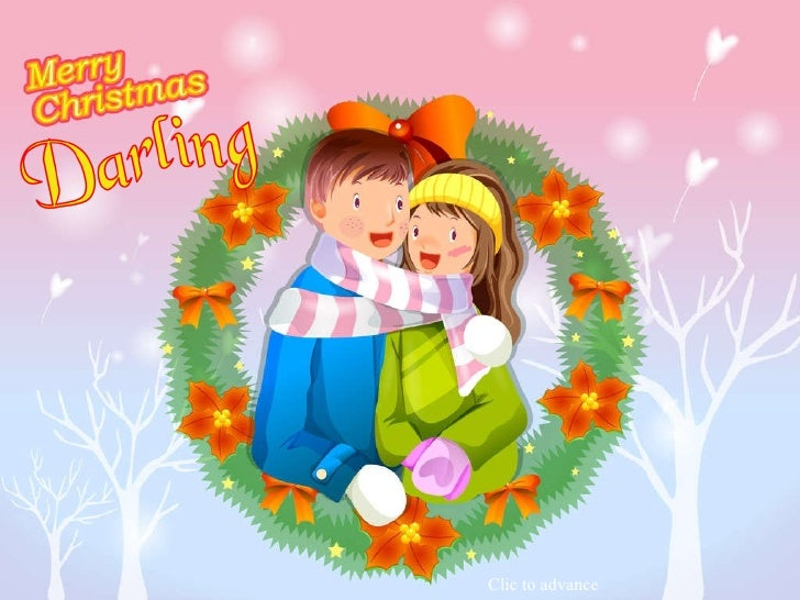 merry christmas darling clic to advance