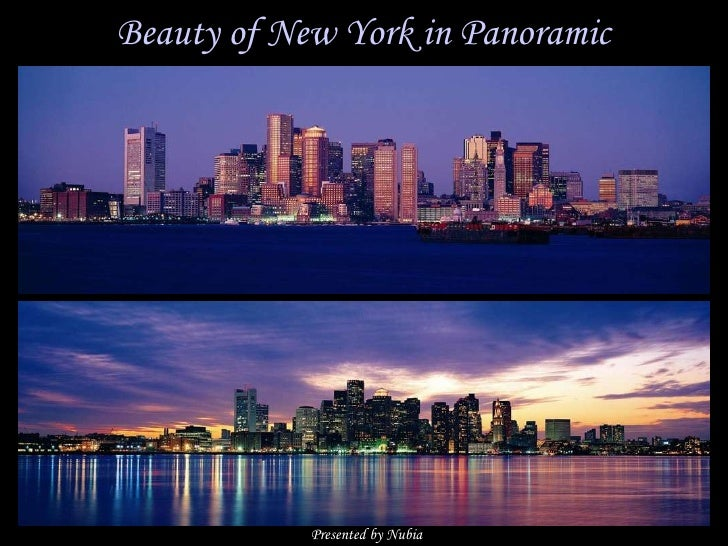 Beauty of New York in Panoramic Presented by Nubia