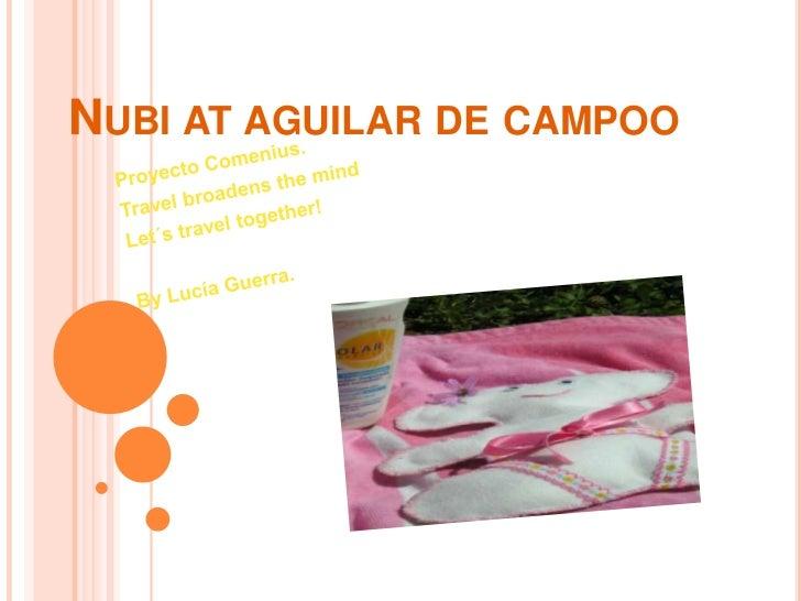 NUBI AT AGUILAR DE CAMPOO