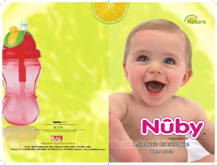 "Nuby Catalogue (""Radiohms Agencies Ltd""- India's largest fmcg company)"