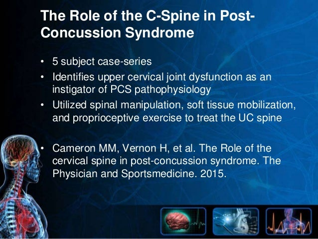 nucca case study presentation - post concussion syndrome, Skeleton