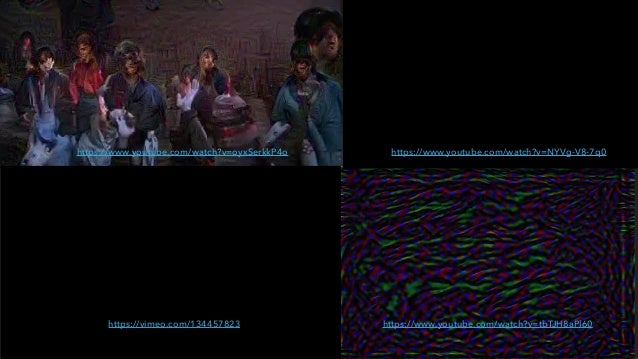 NEURAL NETWORKS CAN HALLUCINATE {*X*} https://www.youtube.com/watch?v=oyxSerkkP4o https://vimeo.com/134457823 https://www....
