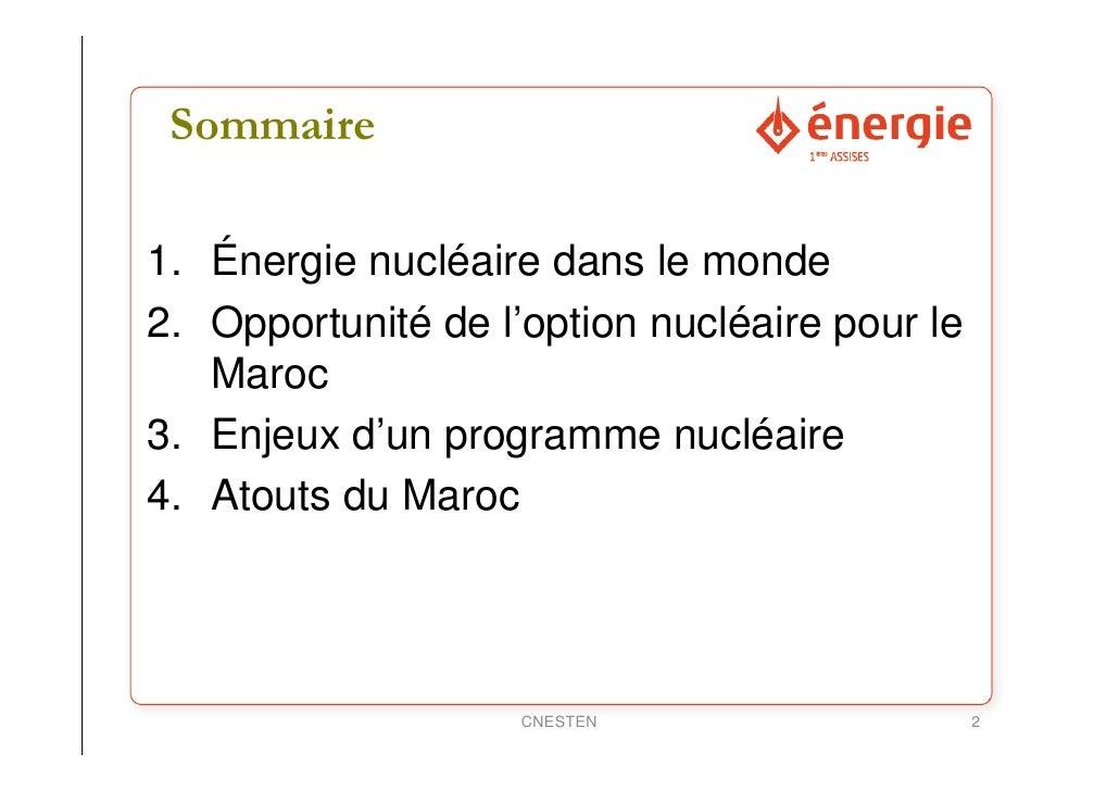 Nucléaire Slide 2
