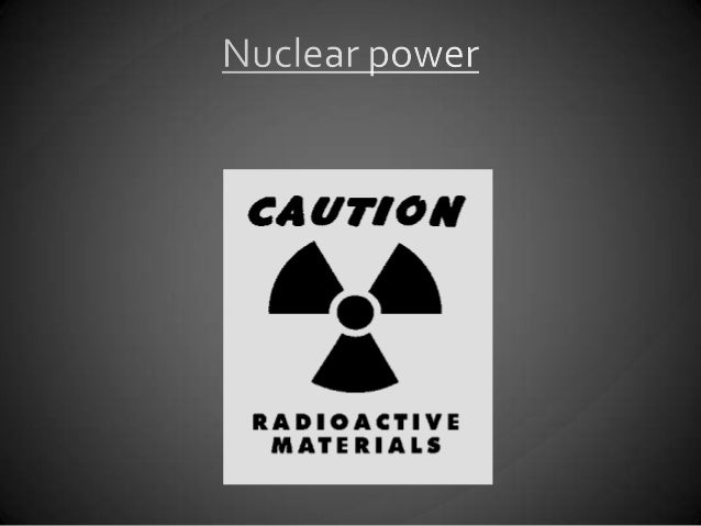 Nuclearpower is energyproduced by thenuclear reactionthrough fusionand fission. Theenergy releasedthrough thereaction ist...