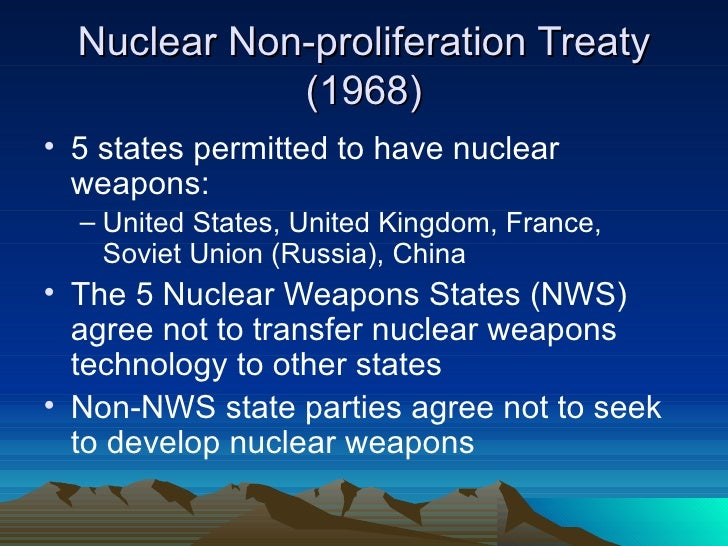 nuclear non-proliferation treaty essay The second part of the exam is the essay that you need to make on a subject of   success and failures of the non-proliferation treaty demonstrated in history   the 17th esarda course on nuclear safeguards and non proliferation to be.