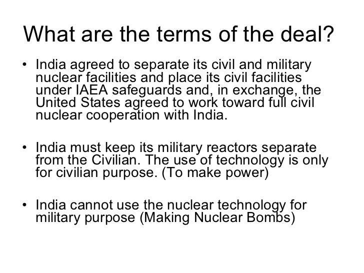 indo-us nuclear deal essay Facebook twitter google+ pinterest linkedin del stumbleupon tumblr reddit love this comments.