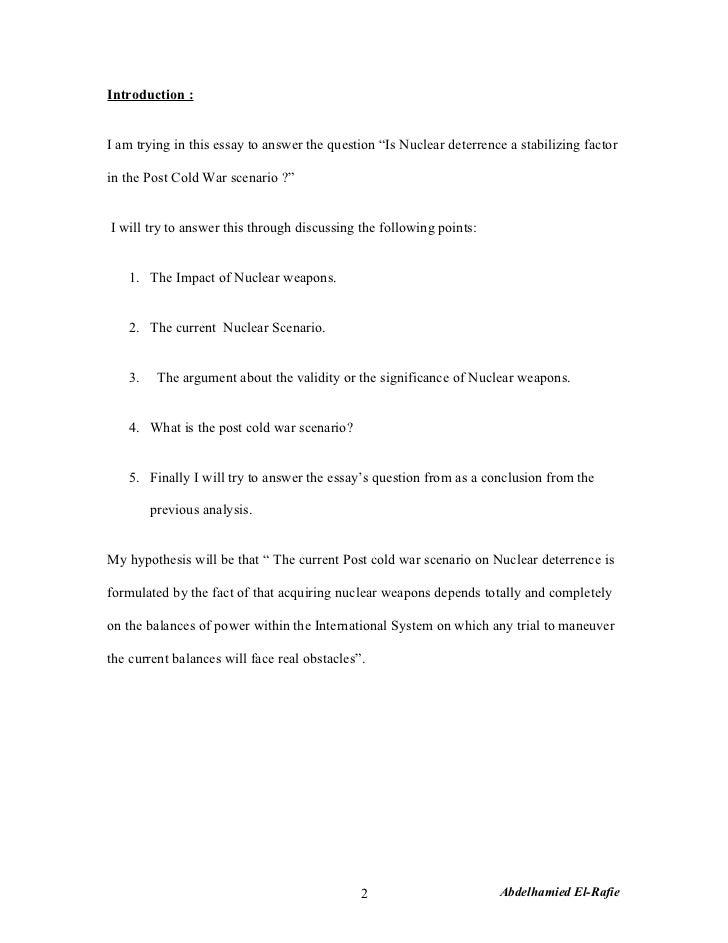 terrorism: a morbid scenario essay Tactical training scenarios your tactical training scenario- criminal retaliation posted on august 13, 2018 by greg ellifritz in tactical training scenarios .