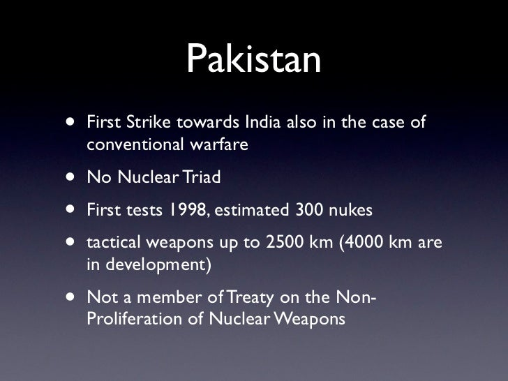 PAKISTAN NUCLEAR DOCTRINE DOWNLOAD
