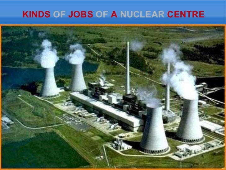 KINDS  OF  JOBS  OF  A  NUCLEAR  CENTRE