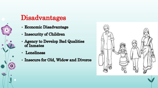 disadvantages of nuclear family