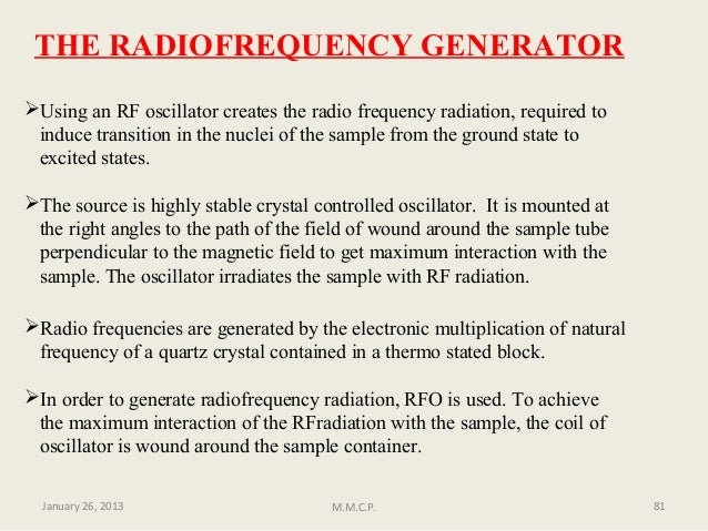 Nuclear magnetic resonance proton nmr