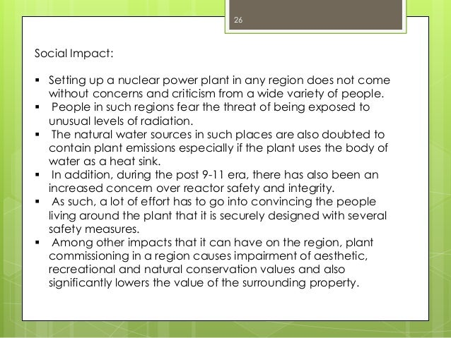 negative aspects of nuclear power plants Hydroelectric power includes both massive hydroelectric dams and small run-of-the-river plants large-scale hydroelectric dams continue to be built in many parts of the world (including china and brazil), but it is unlikely that new facilities will be added to the existing us fleet in the future.