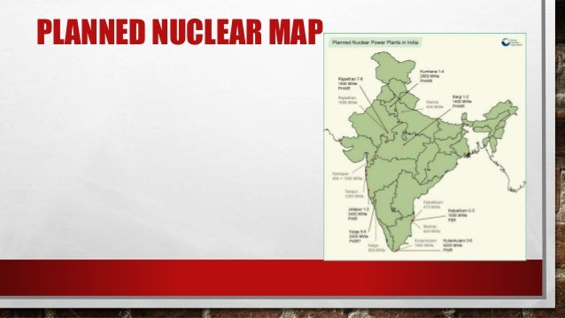 Nuclear Power Plants In India - Nuclear plants in india map