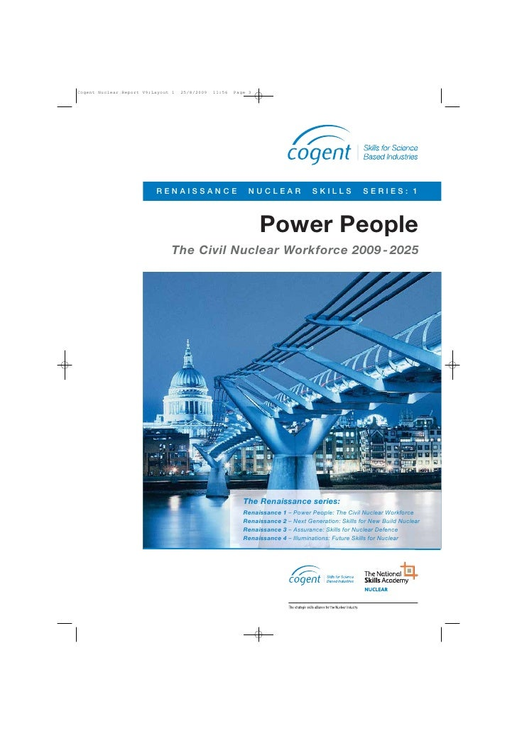 Cogent Nuclear Report V9:Layout 1   25/8/2009   11:56   Page 3                          RENAISSANCE                       ...