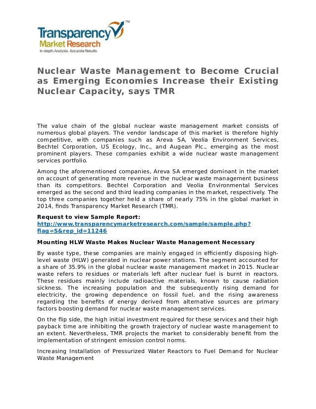 an analysis of the nuclear waste management Chapter 5 policy analysis: the nuclear waste policy act of 1982 in perspective,' the issues and problems described in the pre-ceding.