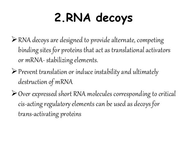 Nucleic acids as therapeutic agents