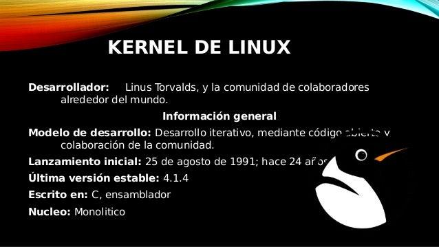 Nucleo O Kernel De Linux