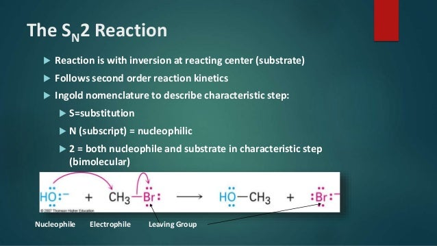 Nucleophilic Substitutions Reactions