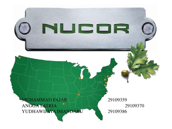 Nucor Swot