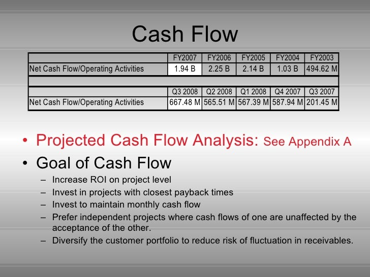 nucor at a crossroads cash flow analysis