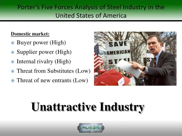 nucor case study swot analysis 4 nucor case study executive summary nucor is among the main manufacturers of steel within the united states it is the largest scrap steel recycler in the world (recycling about 17 million tons of steel per annum.