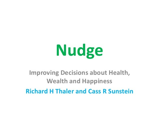 nudge theory quotes