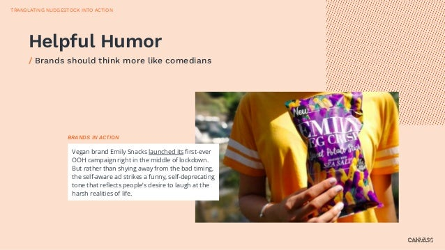 Vegan brand Emily Snacks launched its first-ever OOH campaign right in the middle of lockdown. But rather than shying away ...