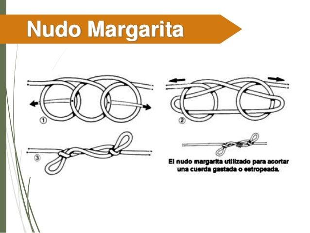 Margarita con nudos Marlingspike