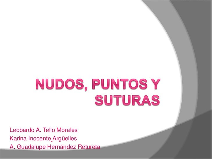 Leobardo A. Tello MoralesKarina Inocente ArgüellesA. Guadalupe Hernández Retureta