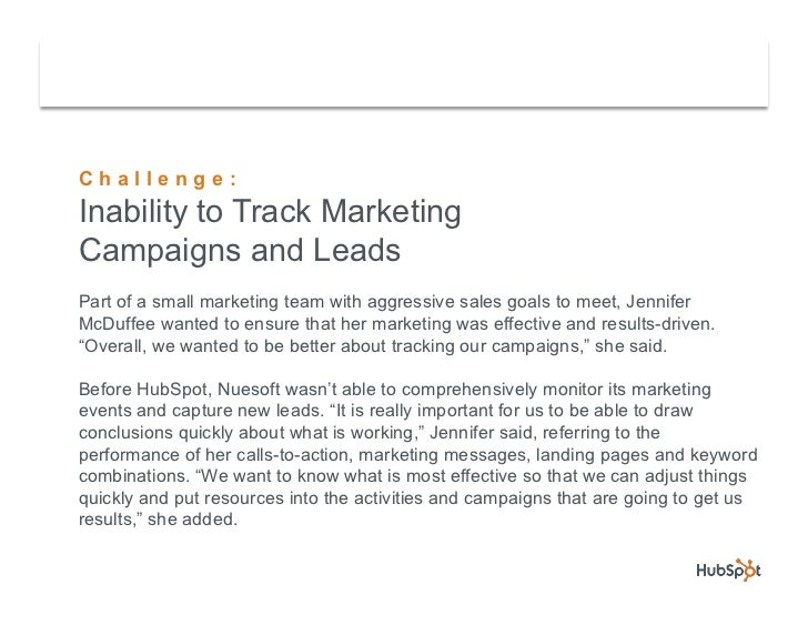 Nuesoft Grows Leads by 130% and Increases Sales Team by 50% with HubSpot Slide 3