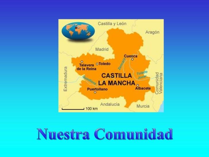 EL RELIEVE DE CASTILLA-LA MANCHAEn el relieve de Castilla-La Mancha se pueden distinguir dos                           zon...