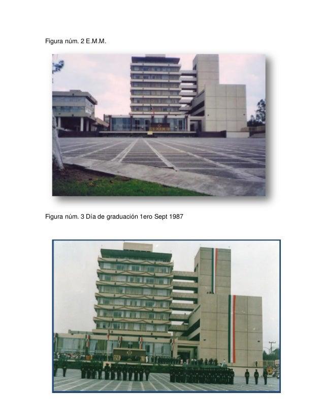 Figura núm. 2 E.M.M. Figura núm. 3 Día de graduación 1ero Sept 1987