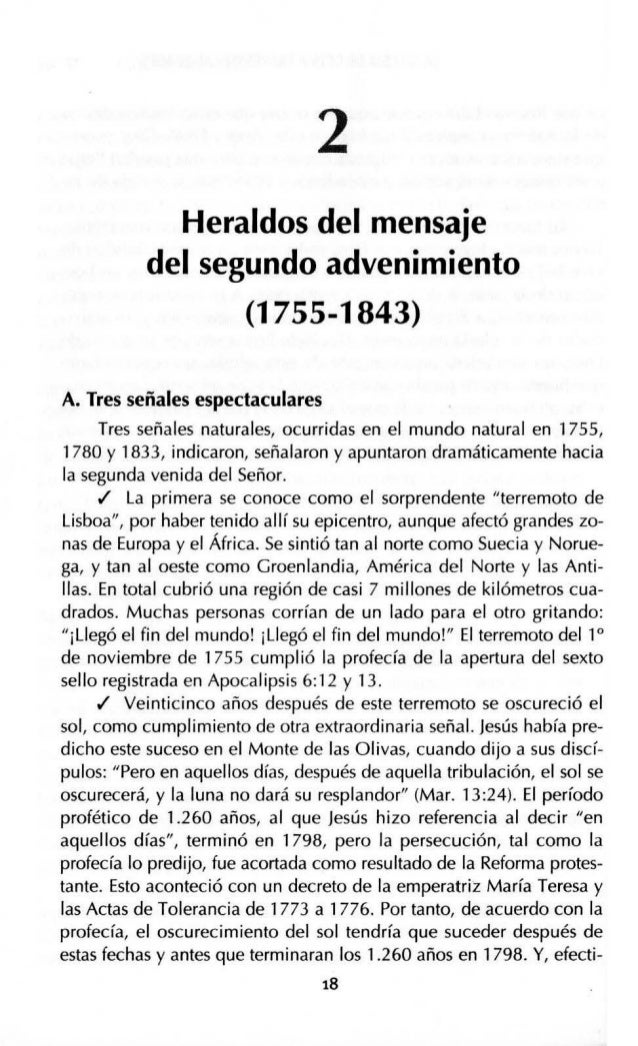 HERALDOS DEL MENSAJE DEL SEGUNDO ADVENIMIENTO (1755-1843) 21 era el mayor de 16 hermanos, no pudo recibir una buena educac...