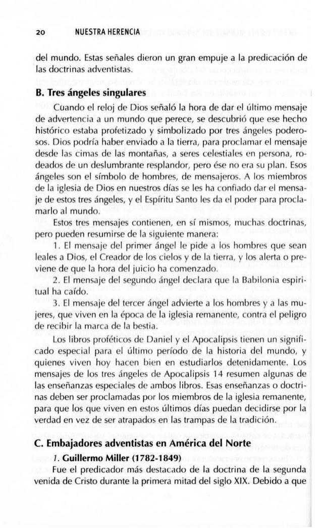 """HERALDOS DEL MENSAJE DEL SEGUNDO ADVENIMIENTO (1755-1843) 23 """"(7) Creo que los cuerpos de los justos que vivan en la tierr..."""