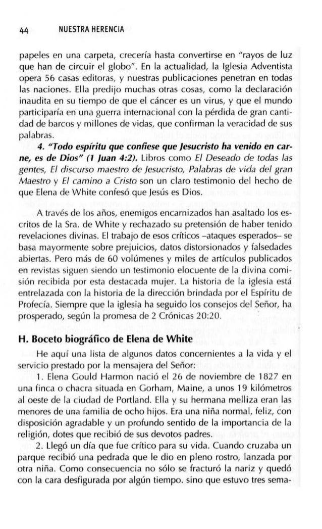 SURGIMIENTO DE LA IGLESIA REMANENTE (1844-1852) 47 el título Testimonios para la iglesia, y ya han salido varios tomos). 1...
