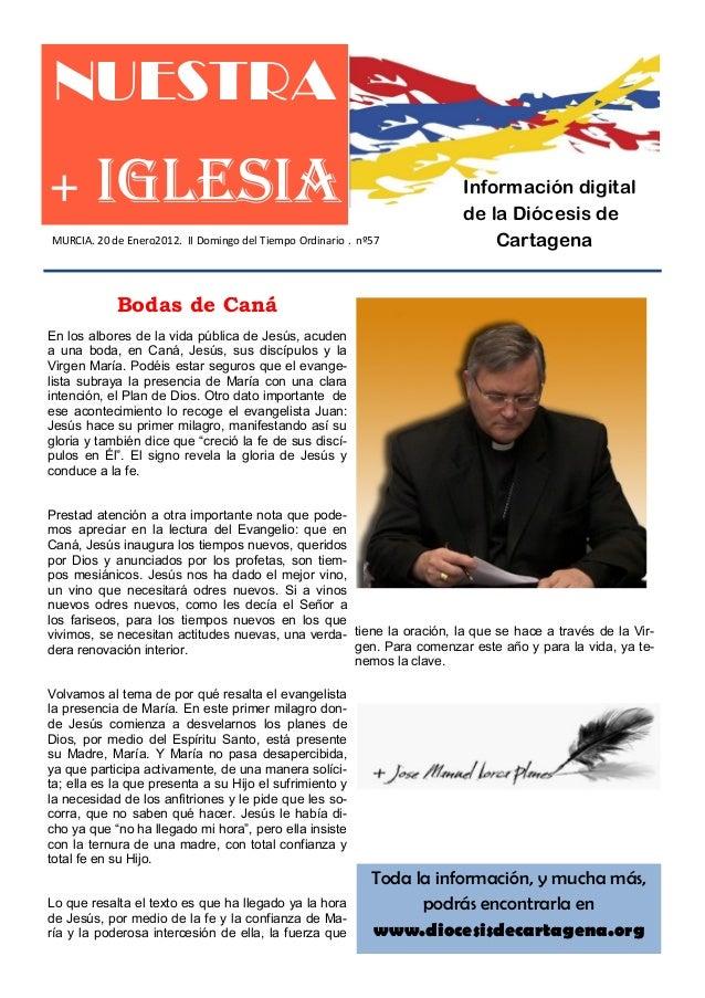 NUESTRA+       IGLESIA                                                         Información digital                        ...