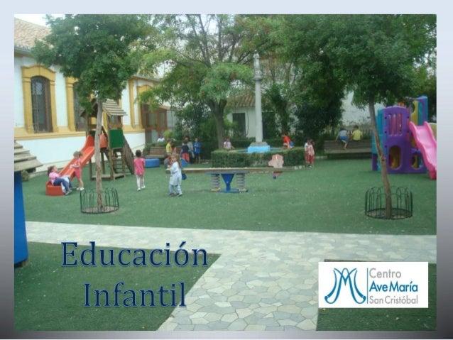 Quienes somos www.sancristobal.amgr.es El Centro de Enseñanza Ave María-San Cristóbal surge en 1926 gracias al empeño de D...