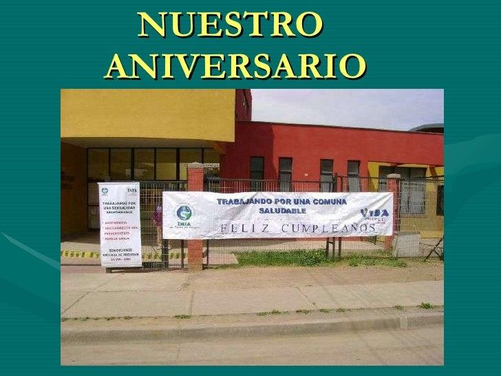 NUESTRO  ANIVERSARIO 1999 - 2009