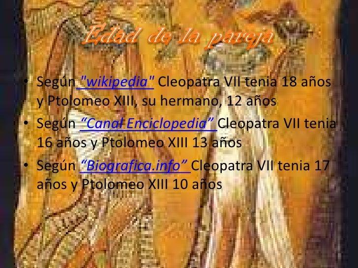 casamiento de cleopatra VII y ptolomeo XIII