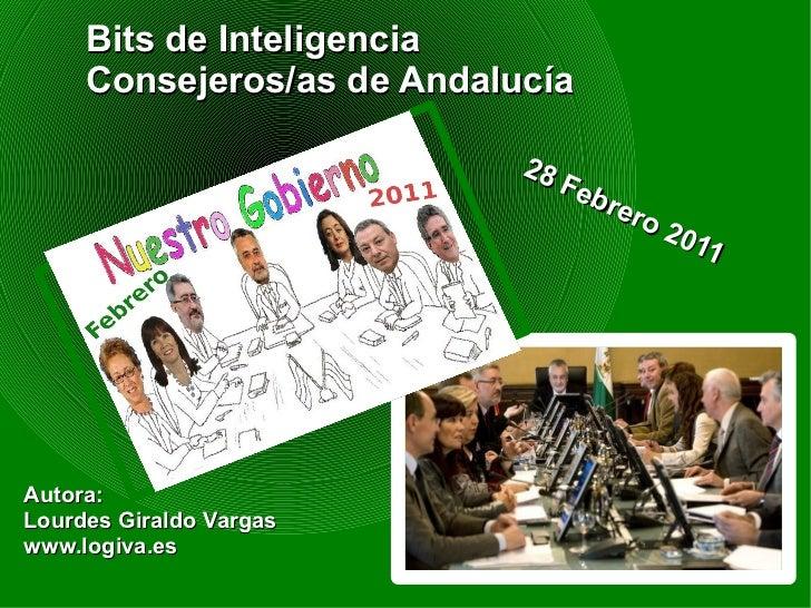 Bits de Inteligencia     Consejeros/as de Andalucía                            28                               Feb       ...