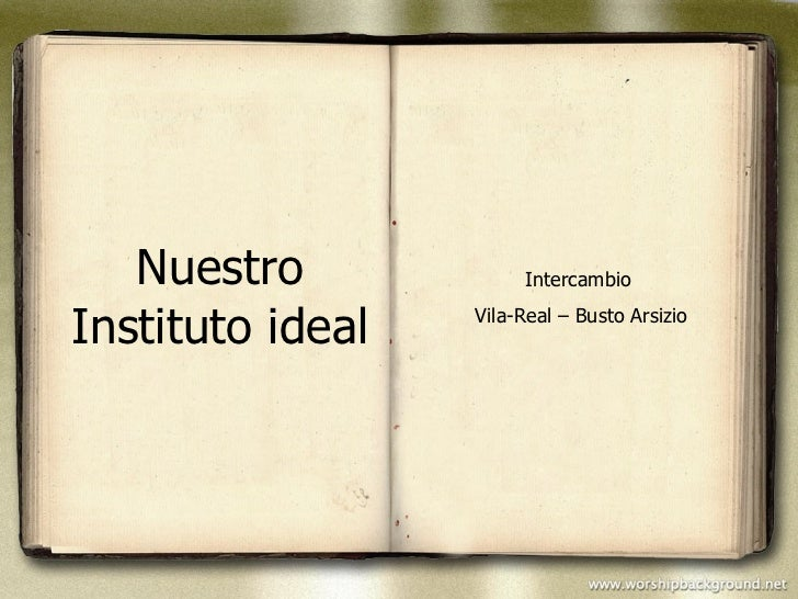 Nuestro Instituto ideal Intercambio  Vila-Real – Busto Arsizio