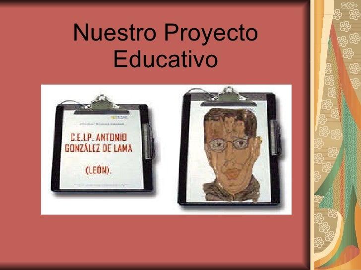 Nuestro Proyecto Educativo