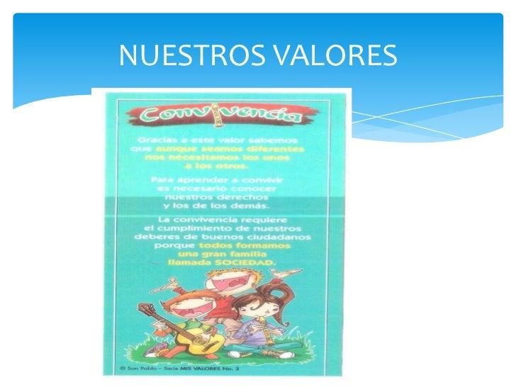 Nuestros valores Slide 2