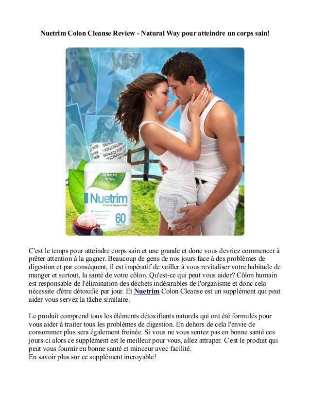 Nuetrim Colon Cleanse Review - Natural Way pour atteindre un corps sain!Cest le temps pour atteindre corps sain et une gra...