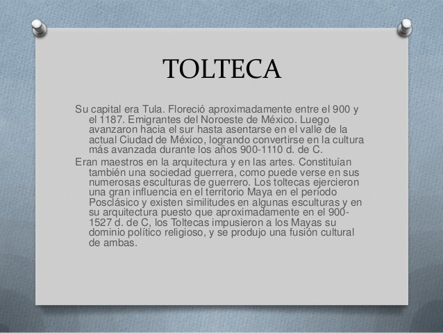TEOTIHUACANO Esta floreció entre el año primero d. de C. y el 750. La  ciudad de Teotihuacán es la más impresionante que p...
