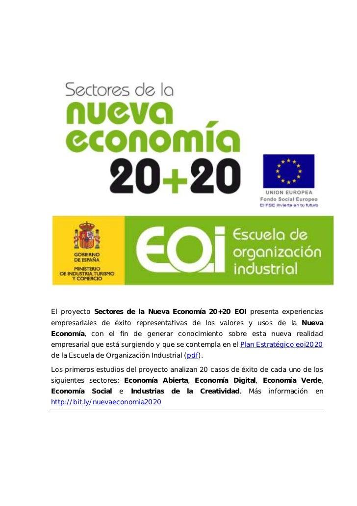 Nueva economía 2020_eoi_industrias_creatividad