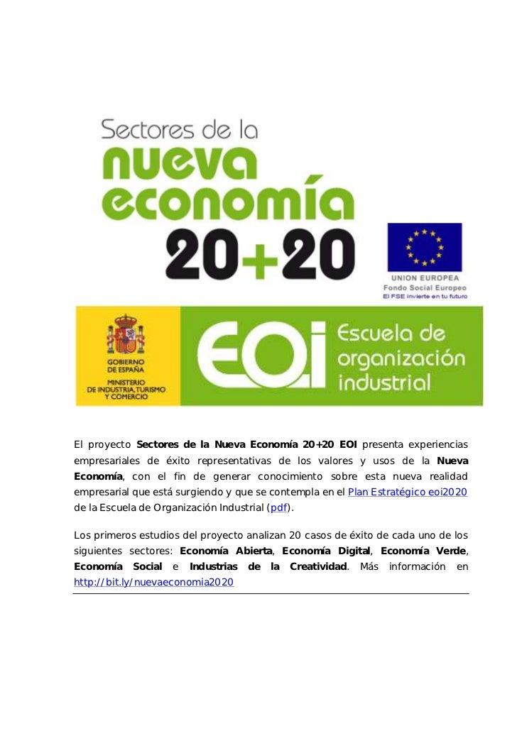 Nueva  economia 2020_eoi_economía_verde