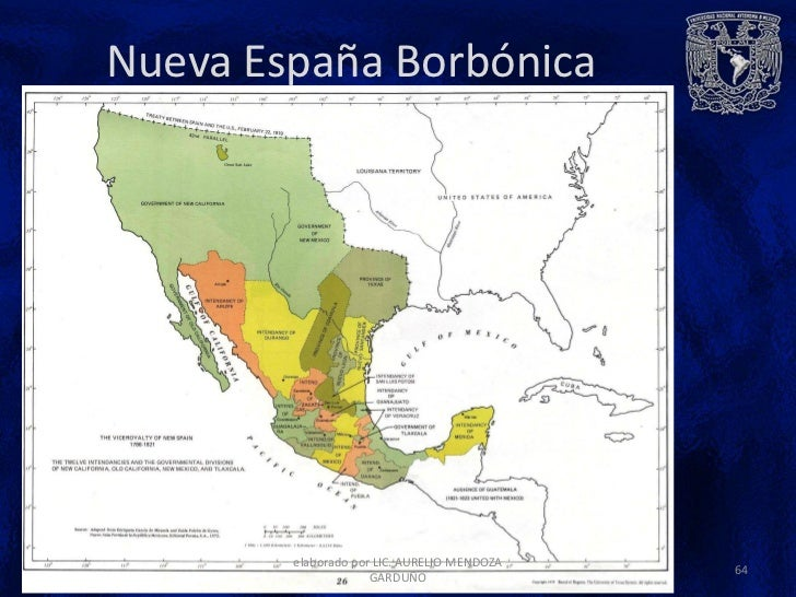 Mapa De Nueva España Siglo Xvi.Nueva Espana Siglos Xvi Xviii Septiembre 2012