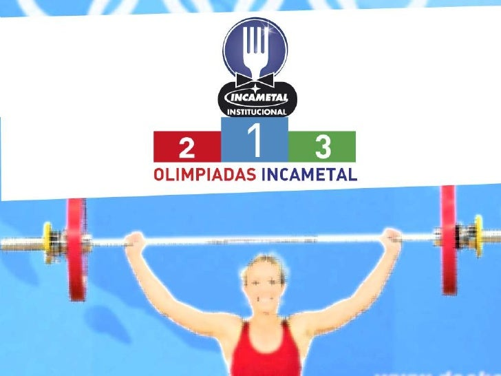 Olímpicos INCAMETAL.